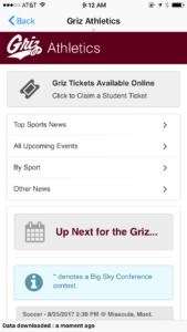 Athletics - Ticket Purchase