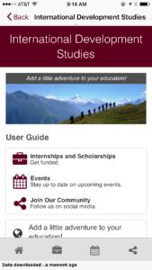 International Development Studies Program